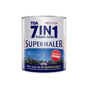 TOA 7IN1 Future Color Supersealer สีรองพื้นปูนเก่า สูตรน้ำมัน