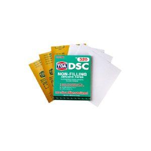 TOA DSC กระดาษทรายขัดแห้ง ยูรีเทน