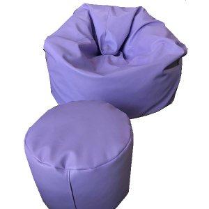 เบาะนั่งStoolทรงกลม pu leather สี1