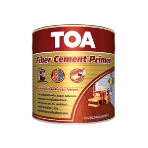 TOA Fiber CementPrimer สีรองพื้นไม้T1000สูตรน้ำมัน