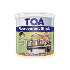 TOA Fibercement Shield ชนิดกึ่งเงา แบบโปร่งแสง