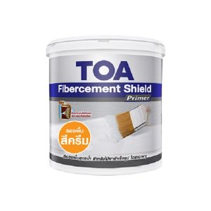 TOA Fibercement ShieldPrimer รองพื้นสูตรน้ำสีครีม