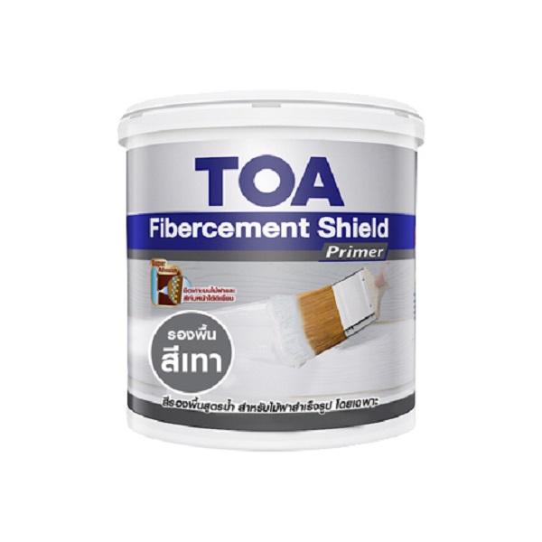 TOA Fibercement Shield Primer รองพื้นสูตรน้ำ สีเทา
