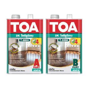 TOA Polyurethane 2K T8800-T8888 ชนิดด้าน ภายใน