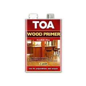 TOA WOOD PRIMER T-2000 สีรองพื้นไม้ สูตรน้ำมัน