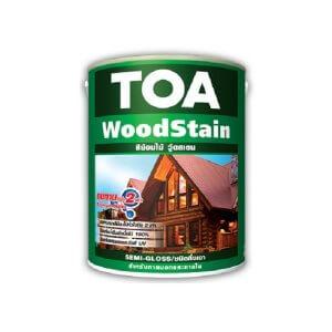 TOA Wood Stain Semi-Gloss สีย้อมไม้ ชนิดกึ่งเงา