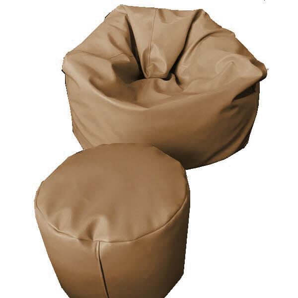 เบาะนั่งStoolทรงกลม pu leather สี18