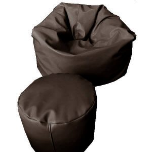 เบาะนั่งStoolทรงกลม pu leather สี2