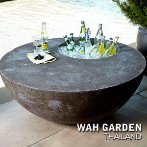 โต๊ะเครื่องดื่มเอาท์ดอร์ Outdoor Beverage Table