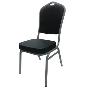 R-SIMPLE เก้าอี้ รับประทานอาหาร รุ่นHOPKIN สีดำ แพค 4 ตัว