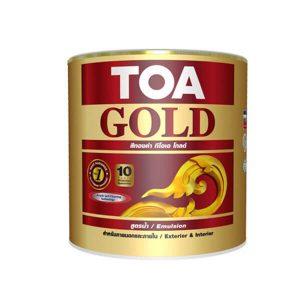 TOA GOLD สีทองคำอะคริลิกสูตรน้ำ