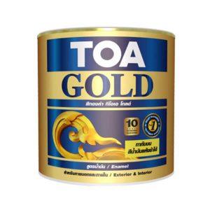 TOA Gold Enamel สีทองคำสูตรน้ำมัน