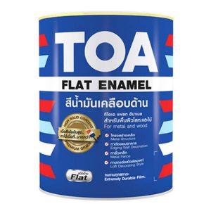 สีน้ำมันเคลือบด้าน TOA Flat Enamel