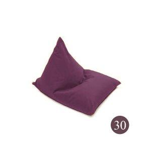 BeanBag Chair ทรงสามเหลี่ยม/ชีส canvas 30