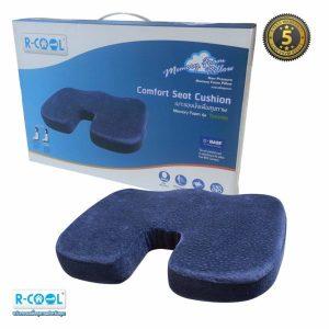 R-COOL เบาะรองนั่งเพื่อสุขภาพ Memory Foam รุ่นTORONTO 34x45x5ซม.