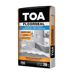 ซีเมนต์กันซึม ยืดหยุ่น 20กก.TOA Floorseal