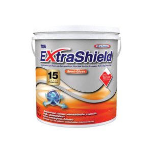 TOA Extrashield สีน้ำอะคริลิกกึ่งเงา เบส A