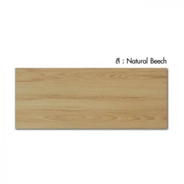 พื้นไม้ลามิเนตลีโอวูด 8x198x1210มม. สี Natural Beech Leowood