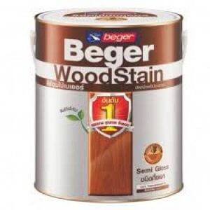 สีย้อมไม้กึ่งเงา Beger 3.75 ลิตร