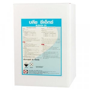 BLEACH CX 15 KG ผลิตภัณฑ์สาหรับซักผ้าขาวและผ้าสี