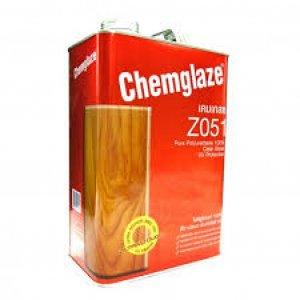 เคมเกลซ Z051 โพลียูรีเทนทับหน้า สีใสชนิดเงา1/4 ลิตร