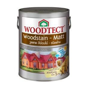 สีย้อมไม้ วูดเทค ชนิดด้าน 3L. woodtect