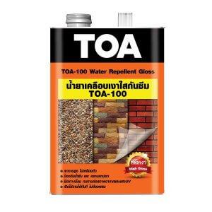 น้ำยาเคลือบเงาใสกันซึม TOA-100