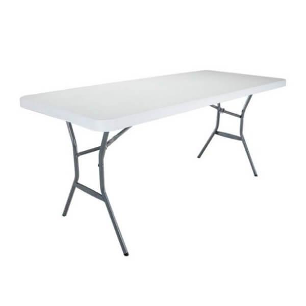 โต๊ะพลาสติก LIFETIME 1.5 ม พับครึ่ง