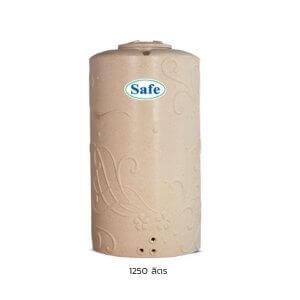 ถังน้ำบนดิน PE แกรนิตทราย 1250ลิตร Safe