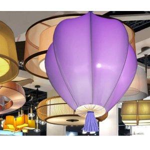 โคมไฟมะเฟือง 8 กลีบสีพื้น SAP10 Purple