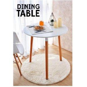 โต๊ะกลมเอนกประสงค์ 3 ขา 80x75 ซม.