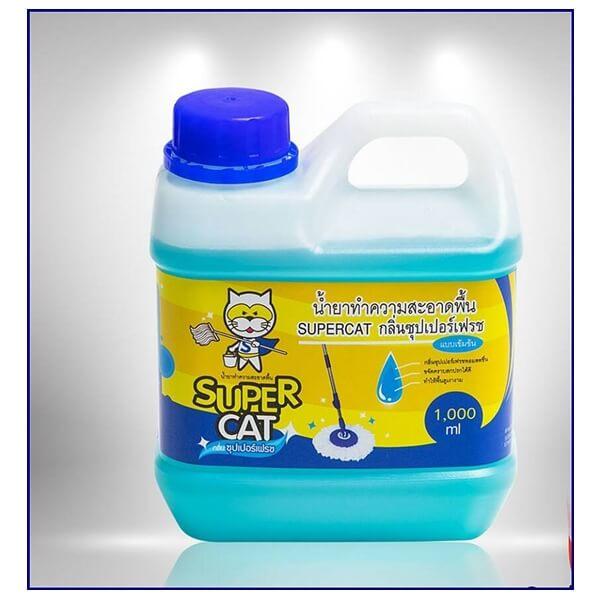 น้ำยาทำความสะอาดพื้น กลิ่น Super Fresh