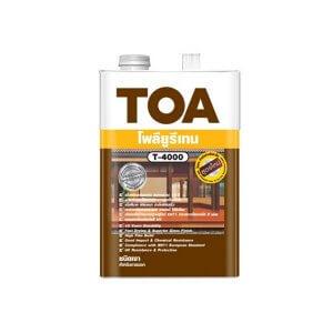 TOA T-4000 โพลียูรีเทนชนิดเงา สำหรับภายนอก 3.75ลิตร