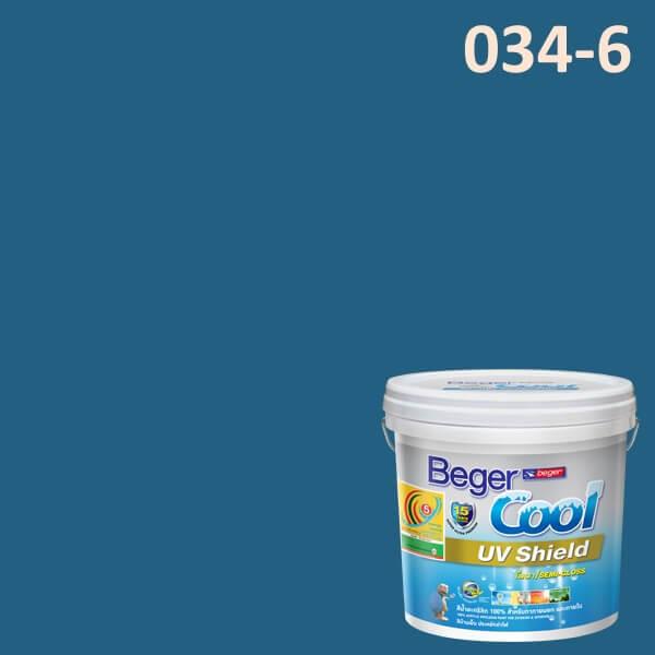 Beger Cool UV Shield 034-6 Azuresque
