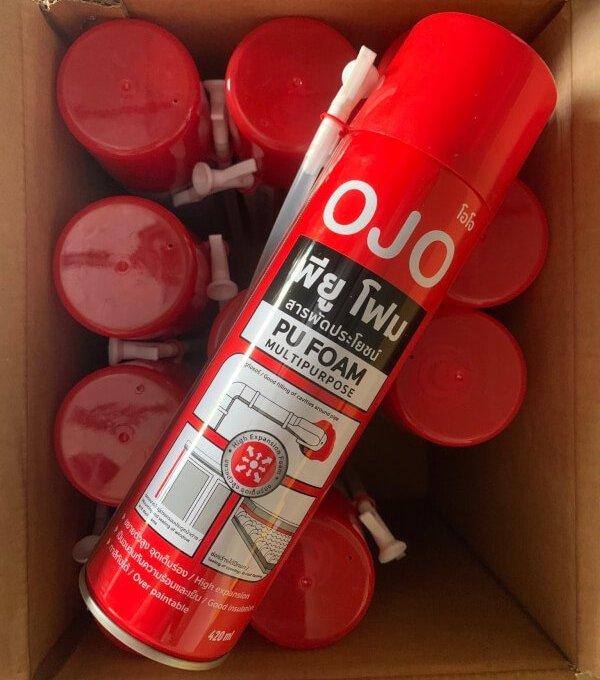 OJO PU Foam 420 ml. พียูโฟมสารพัดประโยชน์