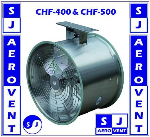 CHF-500 20นิ้ว/500mm พัดลมระบายอากาศแบบแขวน