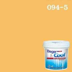 สีน้ำอะครีลิกภายนอก 094-5 Beger Cool All Seasons Exterior My Sunny Day