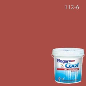 สีน้ำอะครีลิกภายนอก 112-6 Beger Cool All Seasons Steamed Shrimp