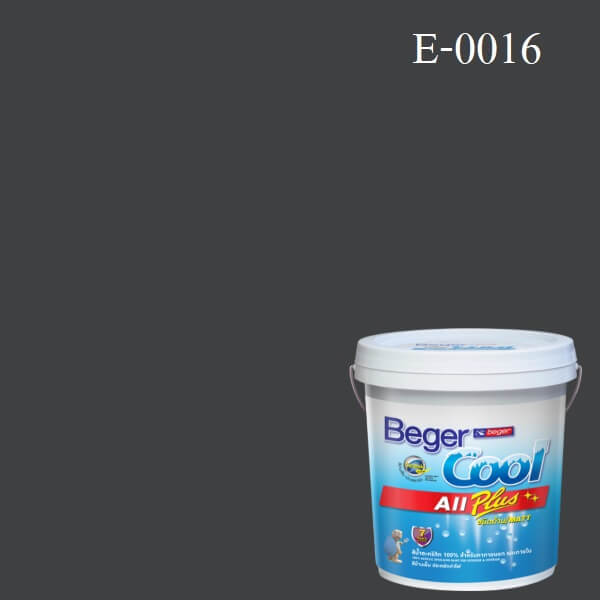 Beger Cool All Plus สีน้ำอะครีลิก ภายนอก E-0016