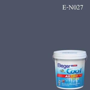 สีน้ำอะครีลิกภายนอก E-N027 Beger Cool All Plus Blue Aster