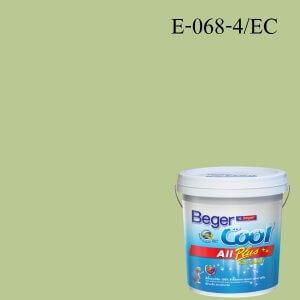 สีน้ำอะครีลิกภายนอก E-068-4 EC Beger Cool All Plus Vista of Spring