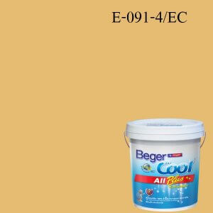Beger Cool All Plus สีน้ำอะครีลิก ภายนอก E-091-4/EC