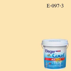 สีน้ำอะครีลิกภายนอก E-097-3 Beger Cool All Plus Lemon Basil