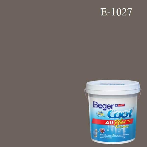 Beger Cool All Plus สีน้ำอะครีลิก ภายนอก E-1027/LH
