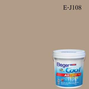 สีน้ำอะครีลิกภายนอก E-J108 Beger Cool All Plus Almendro