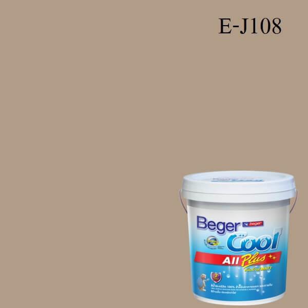 Beger Cool All Plus สีน้ำอะครีลิก ภายนอก E-J108