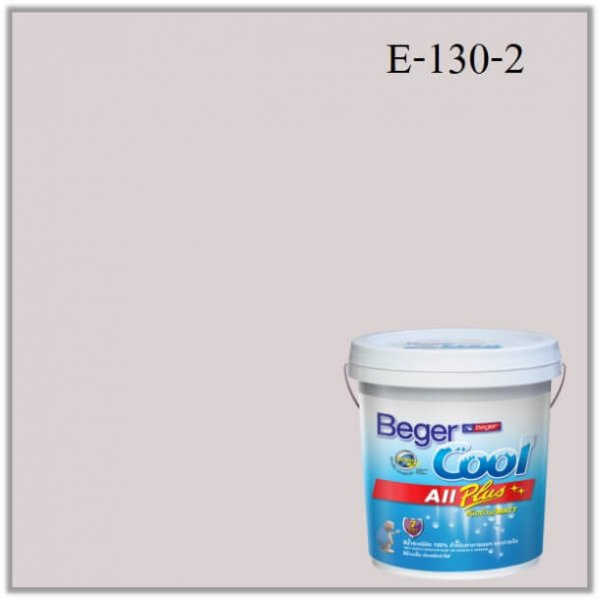 Beger Cool All Plus สีน้ำอะครีลิก ภายนอก E-130-2 SC_PJ