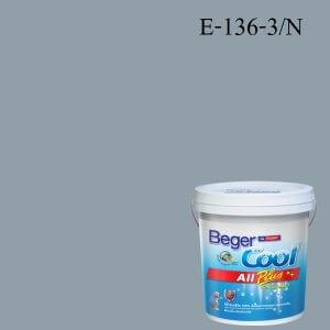 สีน้ำอะครีลิกภายนอก SCP E-136-3 N Beger Cool All Plus Quiet Cameroon