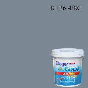Beger Cool All Plus สีน้ำอะครีลิก ภายนอก E-136-4/EC