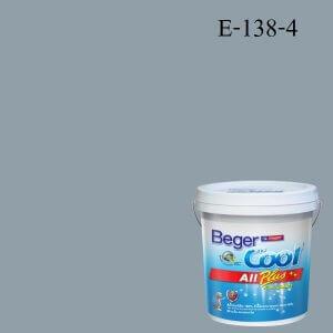 Beger Cool All Plus สีน้ำอะครีลิก ภายนอก (SCP) E-138-4
